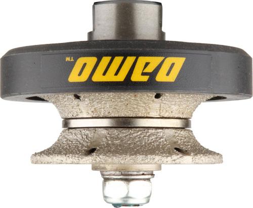 """3//4/"""" Roundover bullnose Diamond Router Bit Granite 40 Pad Concrete countertop"""